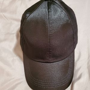 NWOT Soothers black satin finish baseball cap